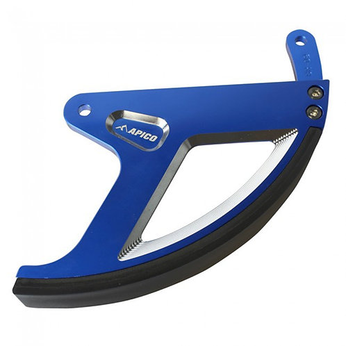 Apico YZ125/250 08-21 YZF250 01-21 YZF450 03-21 WRF 01-21 Rear Disc Guard Blue