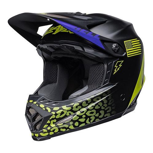 Bell MX 2022 Moto-9 Mips Youth Helmet Slayco Matte Black/Hi-Viz Yellow