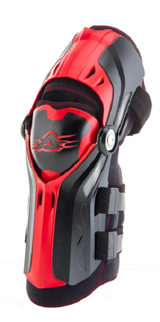 Acerbis Gorilla Knee Guards Black/Red