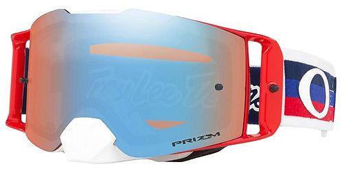 Oakley Front Line TLD Collection Goggle (Pre-Mix RWB) Prizm Sapphire Iridum Lens