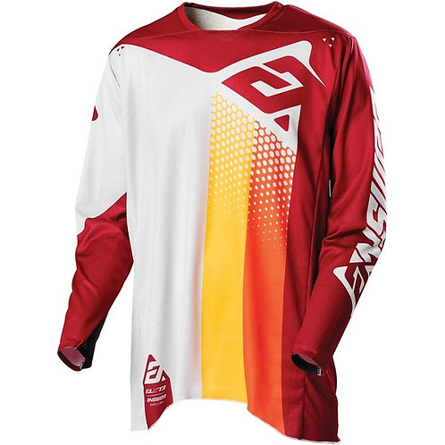 Answer 2021 Elite Pace Jersey Ghost/Berry/Orange