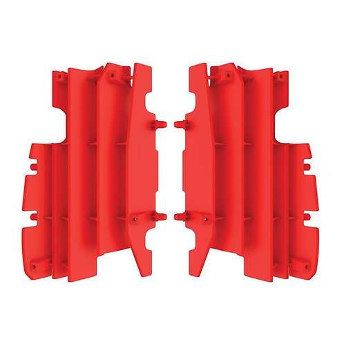 Honda Radiator Louvers Red