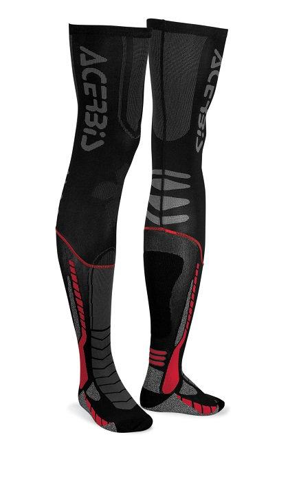 Acerbis X-Leg Pro Socks Black/Red