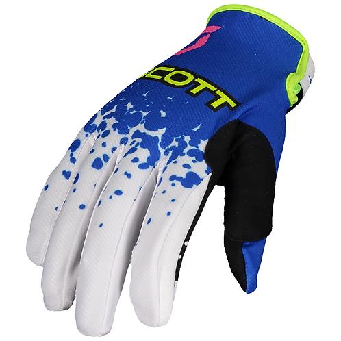Scott 350 Race Evo Glove Blue/Yellow