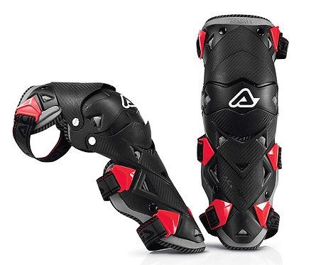 Acerbis Impact Evo 3.0 Knee Guards White/Black