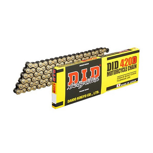 DID 420HD Chain Gold/Black 132L