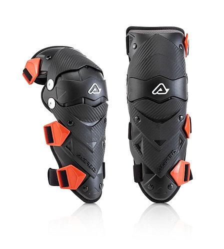 Acerbis Impact Evo Junior Knee Guards Black/Red
