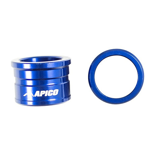 Apico Front Wheel Spacers YZ125/250 08-21 YZF250/450 07-13 Blue