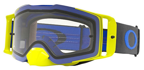 Oakley Front Line Goggle (Blue/Green) Clear Lens