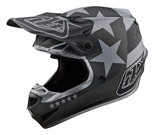 Troy Lee Designs 2021 SE4 Polyacrylite Freedom Black/Grey