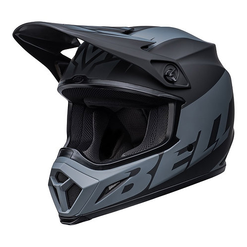Bell MX 2022 MX-9 Mips Adult Helmet Disrupt Matte Black/Charcoal