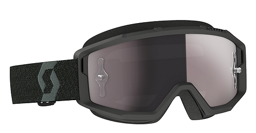Scott Primal Goggle Black With Silver Works Chrome Lens