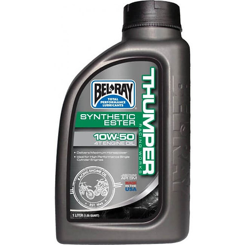 Bel Ray Thumper Racing Works Synthetic Ester 4T 10w/50 Engine Oil