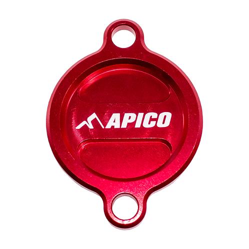 Apico GasGas Oil Filter Cover Red MC250F MC450F 2021
