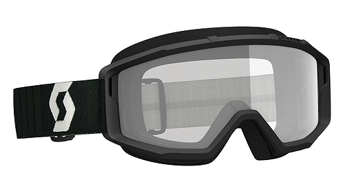 Scott Primal Goggle Black With Clear Lens