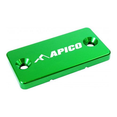 Apico Kawasaki KX65-250 KXF250-450 Green Front Brake Reservoir Cover