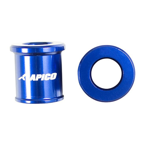 Apico Front Wheel Spacers YZ65 18-21 YZ80/85 93-21 Blue