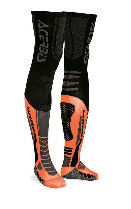 Acerbis X-Leg Pro Socks Black/Orange