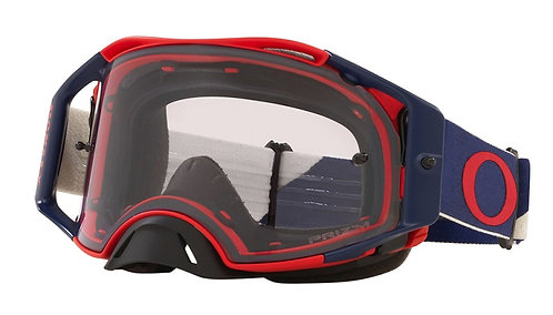 Oakley Airbrake Goggle (Heritage B1B Red/Navy) Prizm Low Light Lens