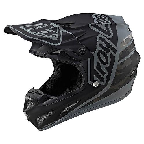 Troy Lee Designs SE4 Composite W/MIPS Silhouette Black Camo