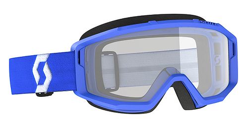 Scott Primal Goggle Blue With Clear Lens
