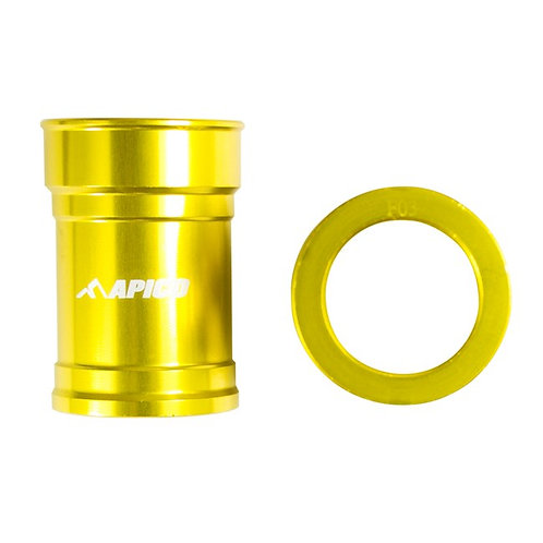 Apico Front Wheel Spacers RM125/250 01-08 Gold