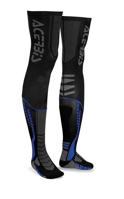Acerbis X-Leg Pro Socks Black/Blue
