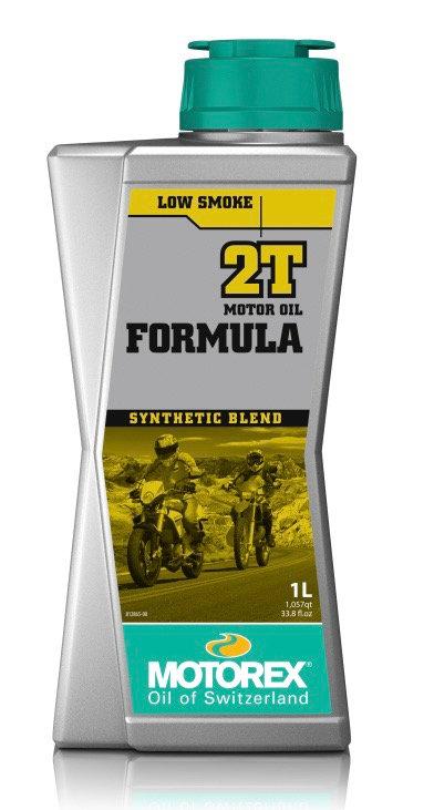 Motorex Formula 2t Two Stroke Oil Synthetic Blend 1L