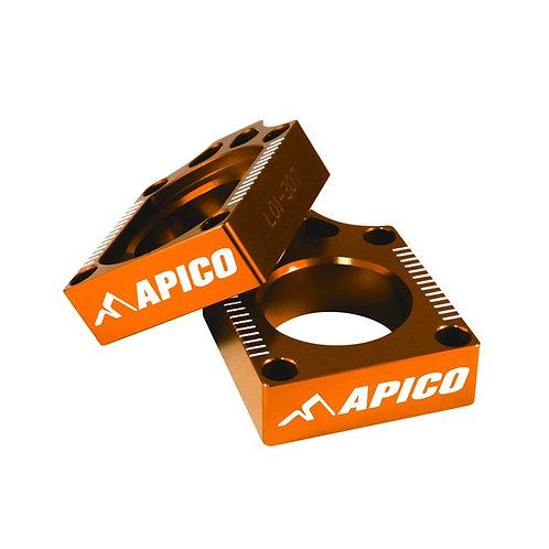 Apico KTM SX65 16-20 Husky TC65 17-20 Axle Blocks