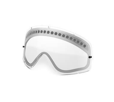 OAKLEY O FRAME DUAL VENTED CLEAR LENS