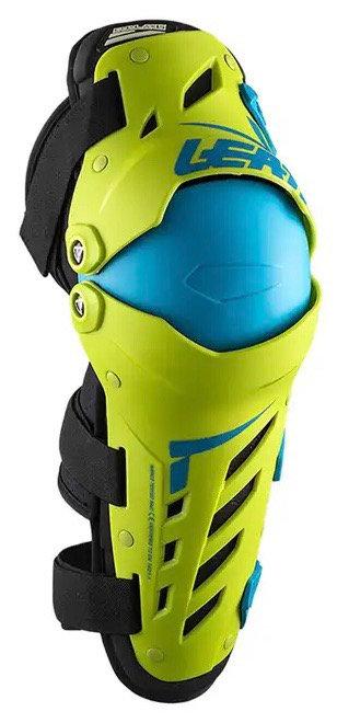 Leatt Dual Axis Knee Guard lime/Blue