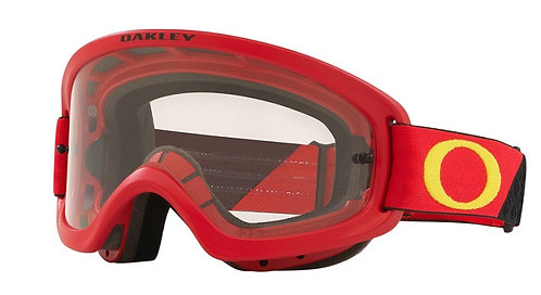 Oakley O Frame 2.0 Pro Youth Goggle (Heritage B1B Red/Yellow) Clear Lens