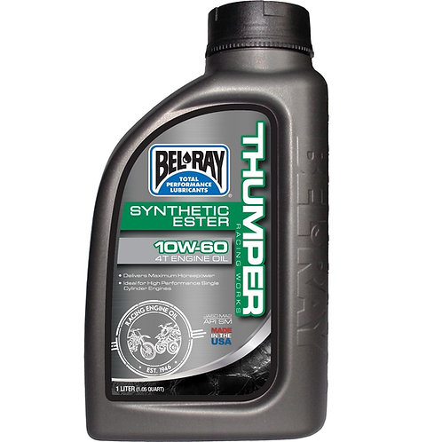 Bel Ray Thumper Racing Works Synthetic Ester 4T 10w/60 Engine Oil