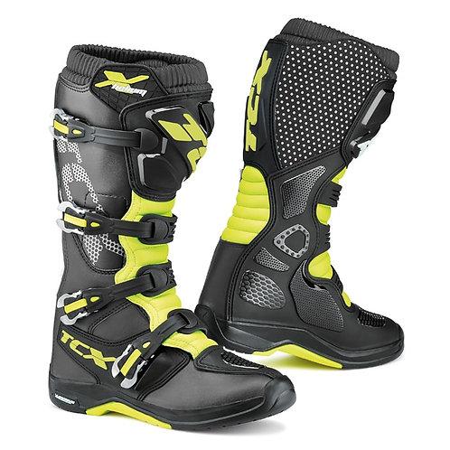 TCX X-Helium Boot Black/Yellow Fluo