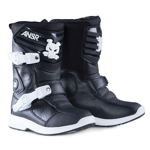 Answer Pee Wee Kids Motocross Boots Black