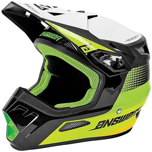 Answer Helmet AR1 Swish Green/Hyperacid/White
