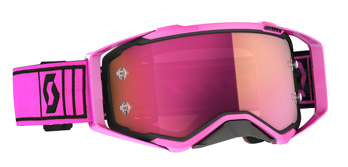 Scott 2021 Prospect Goggle Pink/Black With Pink Chrome Lens
