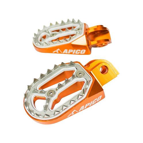 Apico KTM Pro-Bite Foot Pegs SX/SXF 50cc-450cc