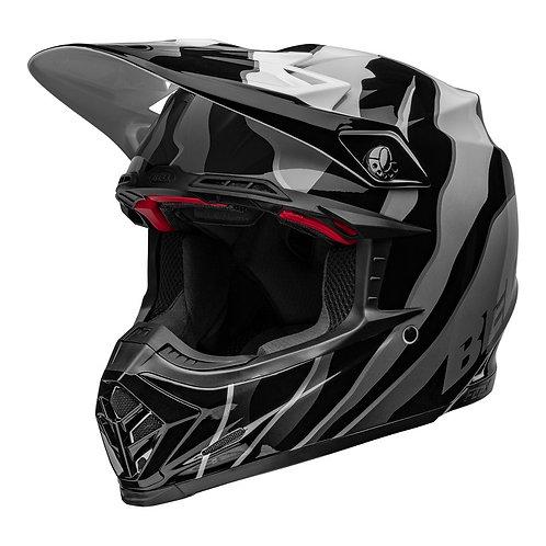 Bell MX 2022 Moto-9S Flex Adult Helmet Claw Black/White