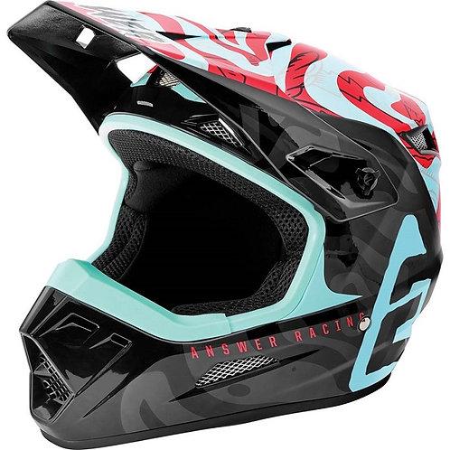 Answer 2021 AR1 Kids Helmet Muteon Seafoam/Air Pink/Tar