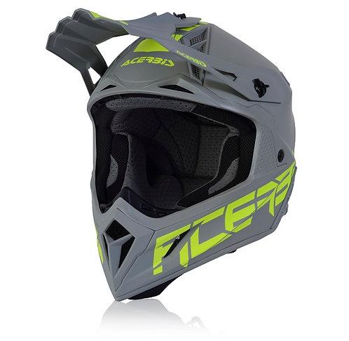 Acerbis 2021 Steel Carbon Helmet Grey 2