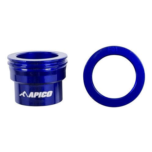 Apico Front Wheel Spacers TC/FC 125-450 15-21 Blue