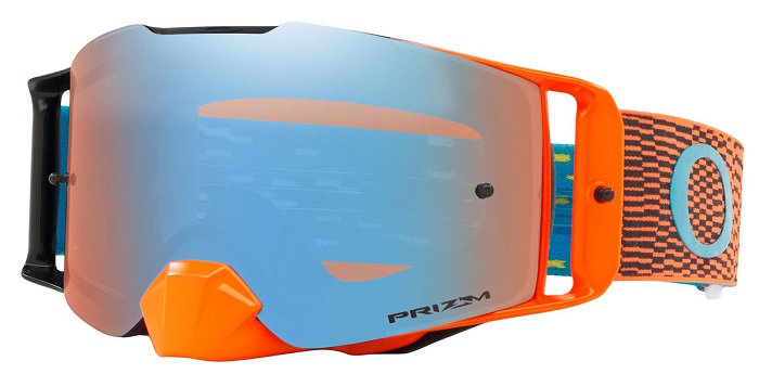 Oakley Front Line Goggle (Equalizer Orange/Blue) Prizm Sapphire Irdium Lens