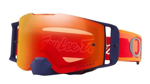 Oakley Front Line Goggle (TLD Confetti Orange/Red) Prizm MX Torch Iridium Lens