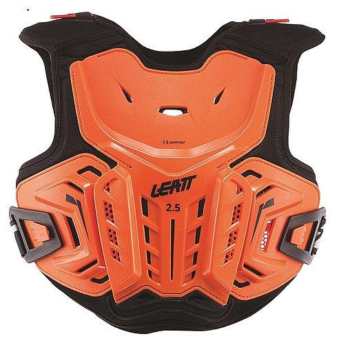 Leatt 2.5 Chest Protector Orange/Black Youth