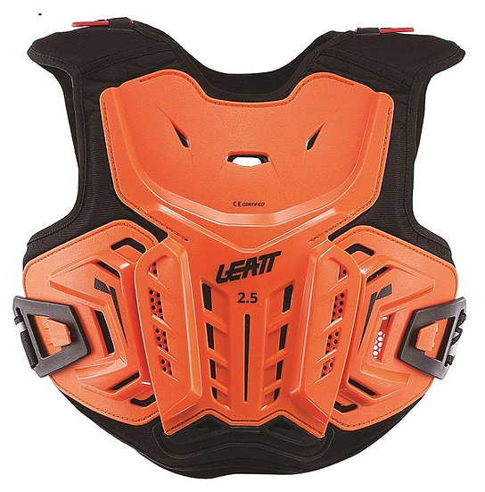 Leatt 2.5 Chest Protector Orange/Black Youth