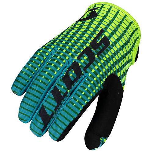 Scott 2021 350 Fury Glove Green/Yellow