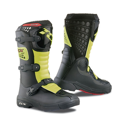 TCX Comp Kids Boot Black/Yellow