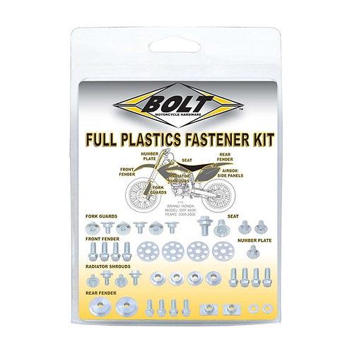 Bolt Kawasaki Plastic Fastener Kit