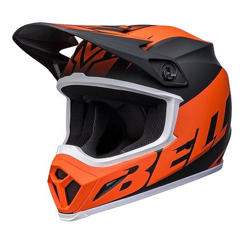 Bell MX 2022 MX-9 Mips Adult Helmet Disrupt Matte Black/Orange